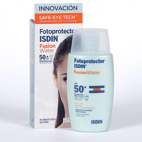 Fotoprotector Isdin SPF 50+ Fusion Water 50 ml