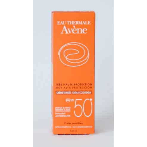 Avene Solar Crema 50+ coloreada 50 ml