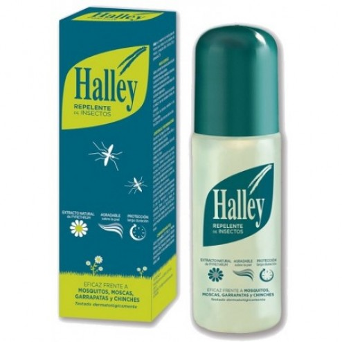 Halley repelente de insectos 150 ml atomizador
