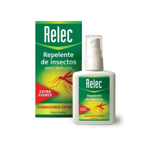Relec entra fuerte spray repelente de mosquitos 75 ml
