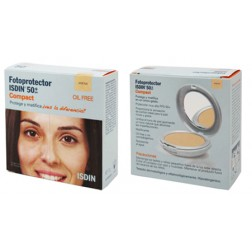 Fotoprotector Isdin 50+ spf maquillaje compacto